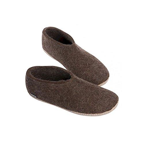 Glerups Nature Pantoufle De Chaussures Marron