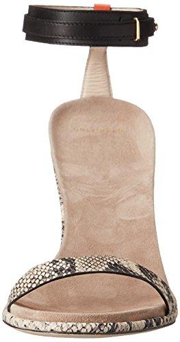 Cole Haan Cyro vestido de la sandalia Black/Roccia Snake Print