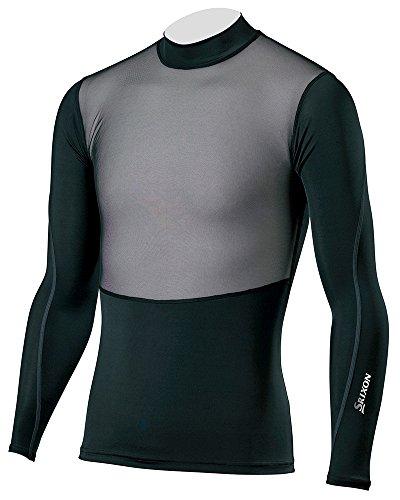受信機登録する篭DUNLOP(ダンロップ) SRIXON 長袖メッシュ アンダーシャツ メンズ SMA6001 ブラック M