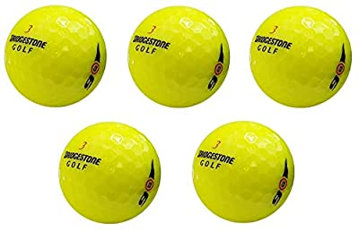 Bridgestone E6 Yellow Mint Recycled Golf Balls (36 Pack) (Fiv? ???k)