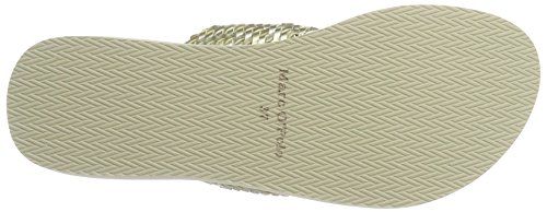 Marc O'Polo 70314031004607 Beach Sandal - Sandalias Mujer Elfenbein (champange)
