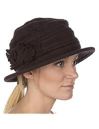 Sakkas Begonia Blossom Wool Hat