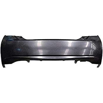 CPP CAPA TO1100280 Rear Bumper Cover for 10-14 Toyota Prius