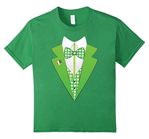 Kids  (Adult Shamrock Suit And Tie Costumes)