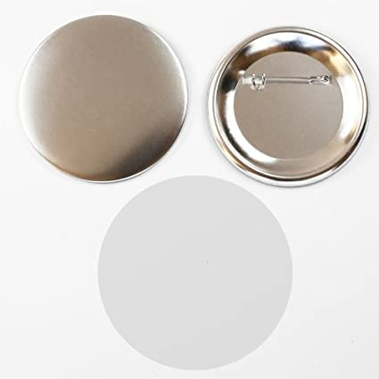 """100sets metal Pin Badge Button Parts components for Pro MakerMachine 44mm 1 3//4/"""""""