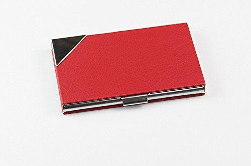 shushu-rfid-stainless-steel-wallet-credit-card-holder-for-men-women-slim-metal-dark-pink