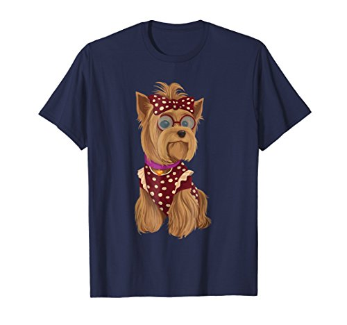 Yorkie Mom T-Shirt Gift For Women T Shirt Clever Tee Shirts