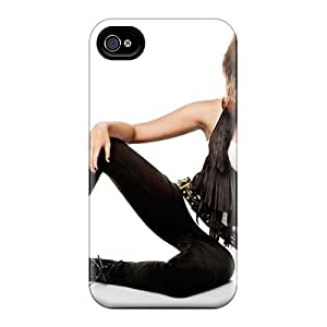 Fashionable Style Case Cover Skin For Iphone 4/4s- Miley Cyrus New Photoshoot