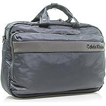 Calvin Klein Flatiron 3.0 Laptop Case Briefcase, Grey, One Size