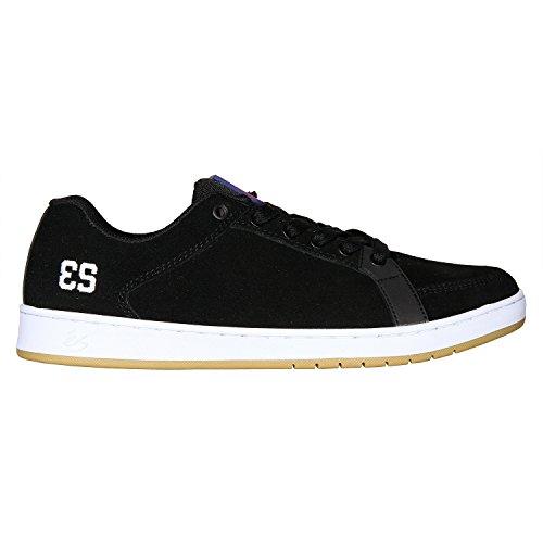 ES, Scarpe da Skateboard uomo nero Black