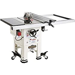 Shop Fox W1837 10'' 2HP Open-Stand Hybrid Saw
