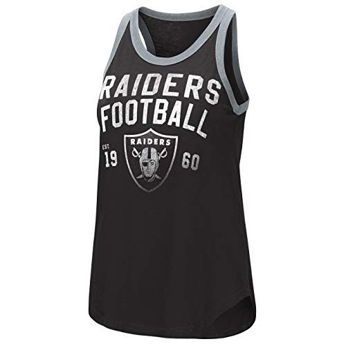 - G-III Sports Oakland Raiders Women's Training Day Tank Top Medium