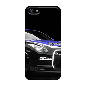QlU7403bbZp SNH Awesome Case Cover Compatible With Iphone 5/5s - Nissan Gtr Spec V