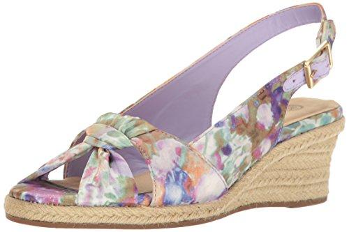 Vita Wedge Floral Espadrille Sandal Ii Bella Seraphina Women's Pastel zZZp6