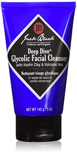 Jack Black Deep Dive Glycolic Facial Cleanser, 5 fl. oz. (Best Facial Cleanser For Black Men)