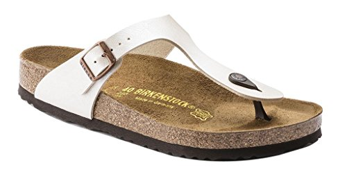Birkenstock Women's GIzeh Thong Sandal, Graceful Antique Lace, 38 N EU/7-7.5 2A(N) US