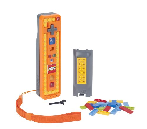 Wii LEGO Play and Build Remote - Orange/Gray (Wii Lego Remote)