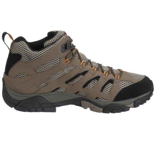 Merrell Moab Mid Gtx Uomo Trekking Scarpe Da Trekking Beige (darktan)
