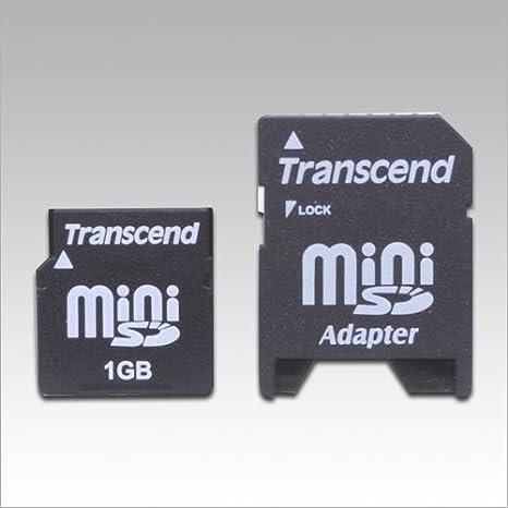 Transcend TS1GSDM80 80X Mini-SD Secure Digital