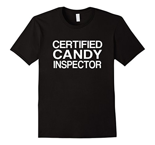 Costume Mom Et (Mens Candy Inspector Funny Mom or Dad Halloween Costume Large)