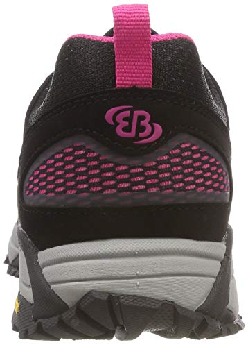 Brütting Chaussures Mount Randonnée Basses de Schwarz Noir Pink Schwarz Pink Femme Blake RqRxn7w6Wr