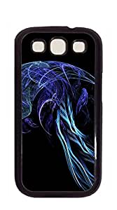 Hard Case Back Custom PC case for samsung galaxy s3 for girls - Purple Jellyfish