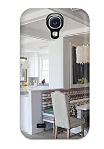 Tpu Shockproof/dirt-proof Eclectic Kitchen With Banquette And Pendant Light Cover Case For Galaxy(s4)