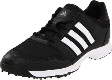 adidas Men's Tech Response 4.0 Golf Shoe,Black/Black/White,7 M US