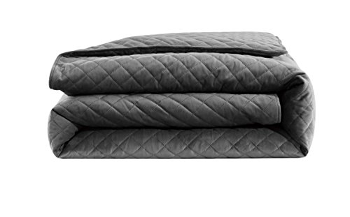 Cheap Comfitude Premium Quality Velvet Weighted Blanket & Removable Duvet Cover (Chorcal 48