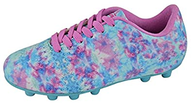 225ed2aa2 Vizari Baby Freesia Soccer Shoe Blue/Purple 8 Regular US Toddler