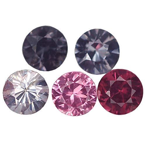Ploythai 2.62CT Awesome VVS 5PCS Diamond Cut Fancy Color Spinel - Gemstones Spinel Cut