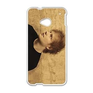 Ed Sheeran 01 a la Mejor funda HTC uno M7 caja del teléfono celular Funda cubierta blanca