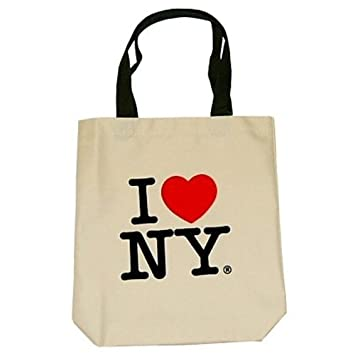 Amazon.com: City-Souvenirs I Love New York Tote Bags, Souvenirs ...