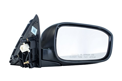 Honda Side View Mirrors - Passenger Side Mirror for Honda Accord LX/EX/SE Models 4-door sedan (2003 2004 2005 2006 2007) Folding Power Adjusting Non-Heated Right Side Rear View Outside Door Mirror Replacement - HO1321152