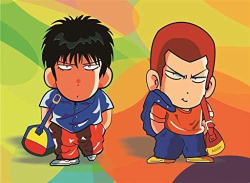 Puzzle House- Klassischer japanischer Cartoon, Holzpuzzle, Slam Dunk-Basketball-Comic, Feinschnitt & Passform, 300/500/1000/1500 Stück Boxed Fotografie Spielzeug Spiel Kunst für Erwachsene -427