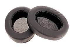 Brainwavz Replacement Memory Foam Earpads - Suitable For Many Other Large Over The Ear Headphones - AKG, HifiMan, ATH, Philips, Fostex