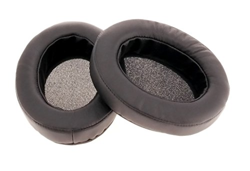 Brainwavz Replacement Memory Foam Earpads – Suitable For Many Other Large Over The Ear Headphones – AKG, HifiMan, ATH, Philips, Fostex