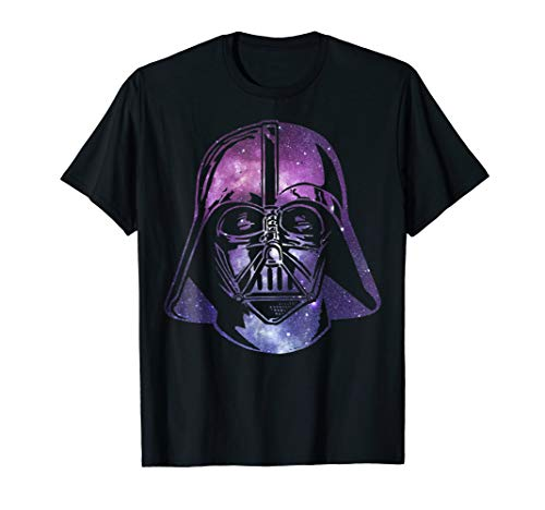 Star Wars Darth Vader Space Helmet Galaxy T-Shirt -