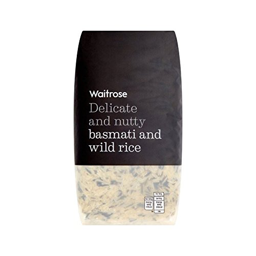 Basmati & Wild Rice Waitrose 1kg - Pack of 4 by WAITROSE