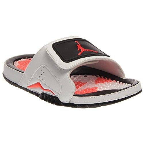 0f2d70554 Nike Jordan Hydro VI Retro Men Sandals White Black Infrared 630752-120 (SIZE   12) - Buy Online in Oman.