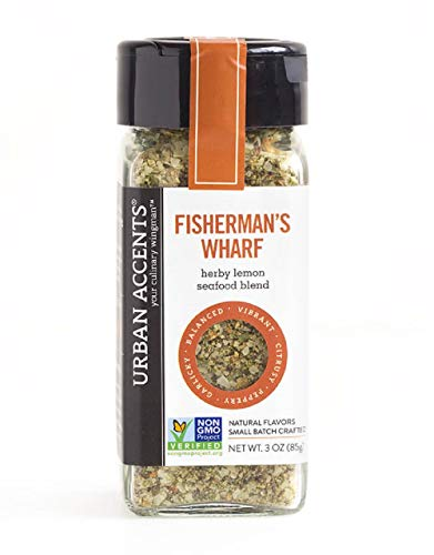 Tip Fisherman - Urban Accents Fisherman's Wharf Herby Lemon Seafood Blend 3 Oz ( Pack of 2)