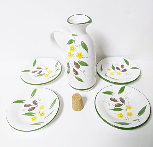Villaware Olive Oil 5 Piece Dipping Set