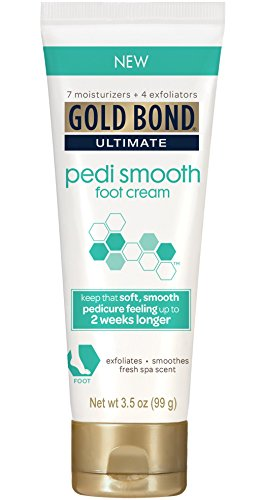 Gold Bond Pedi Smooth Foot Cream, 3.5 oz, Pack of 2 by Gold Bond