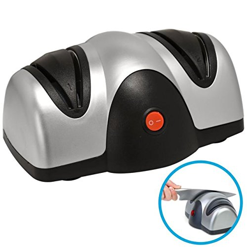 Professional Electric Two Stage Knife & Scissor Sharpener Grind Sharpen Hone Tooltime®
