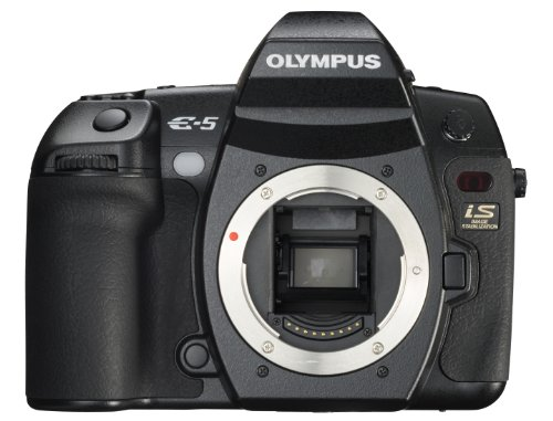 Olympus E-5 12.3MP Digital SLR with 3-inch LCD [Body Only] (Black)