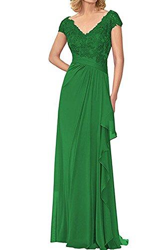 Bowith Mère De Volants Robes De Mariée Longue Demoiselle D'honneur Vert Robe De Soirée Des Femmes