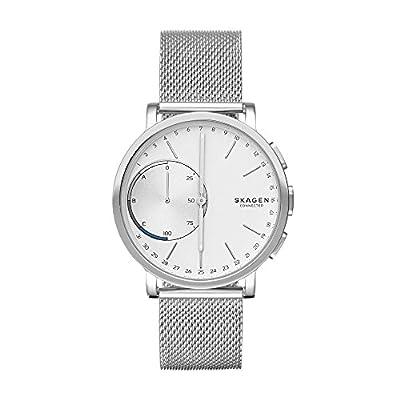 Skagen 'Hagen' Quartz Stainless Steel Smart Watch, Color:Silver-Toned (Model: SKT1100) from Skagen Watches