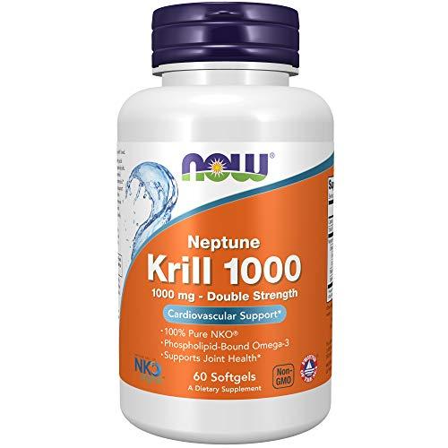 Now Foods Neptune Krill Oil Softgels 1000mg   60 Softgels
