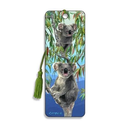 Artgame - Koalas - 3D Bookmark from Artgame