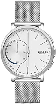 Skagen Connected Men's Hagen Stainless Steel Hybrid Smartwatch, Color: Silver-Tone (Model: SKT1